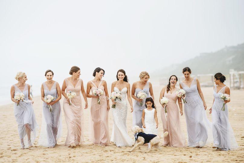 Anna + Her Bridesmaids Gurney's Montauk Montauk, NY {Photo Courtesy Ross Harvey}