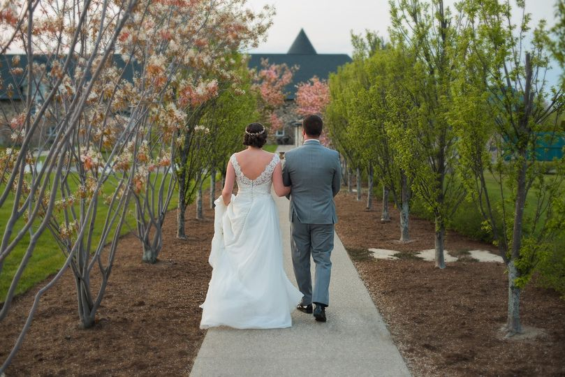 A Mid-Summer wedding at Castle Farms, Charlevoix, Michigan.