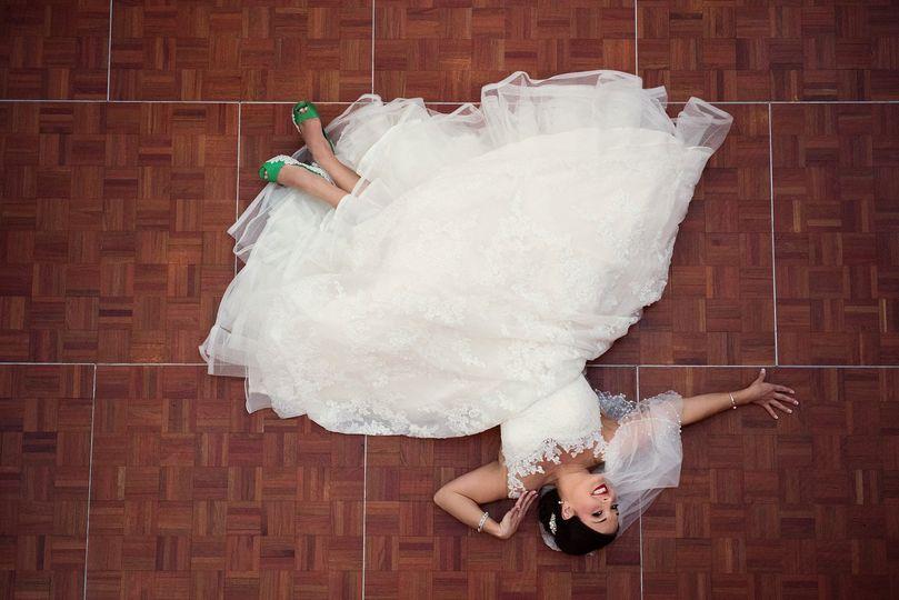 Bridal Portraits can be fun!