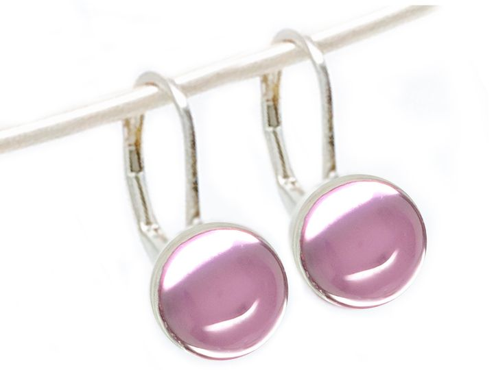 Tmx 1426702085718 S1031e Ps Pink Sapphire 8mm Cab Earrings Forest Hills wedding dress