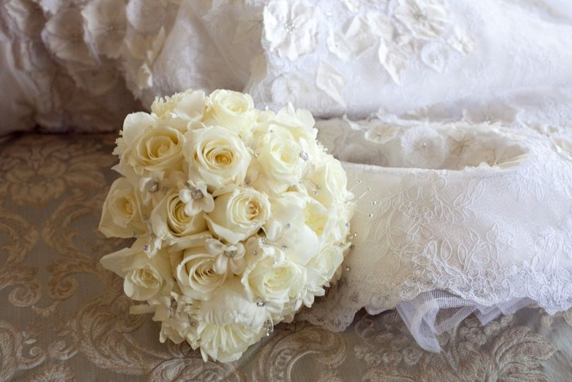 bridal boquet 2