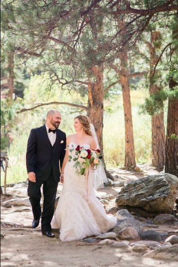 Stroll by the trees | Photo Credits:  Megan LeePhotography