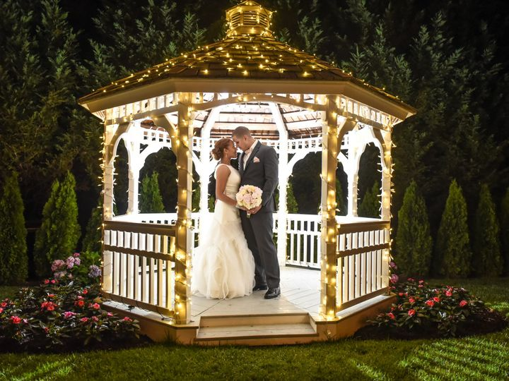 Tmx 1441824614505 Gazebo Night Couple Hainesport, NJ wedding venue