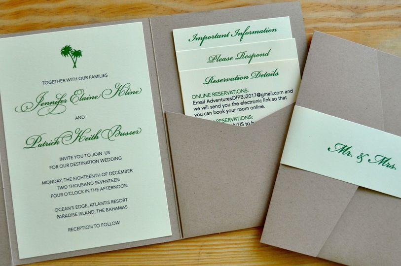 Destination wedding for jen & patrick