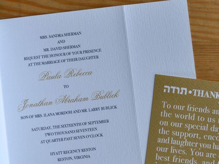 Tmx 1507925718406 Dsc0502 Leesburg, VA wedding invitation