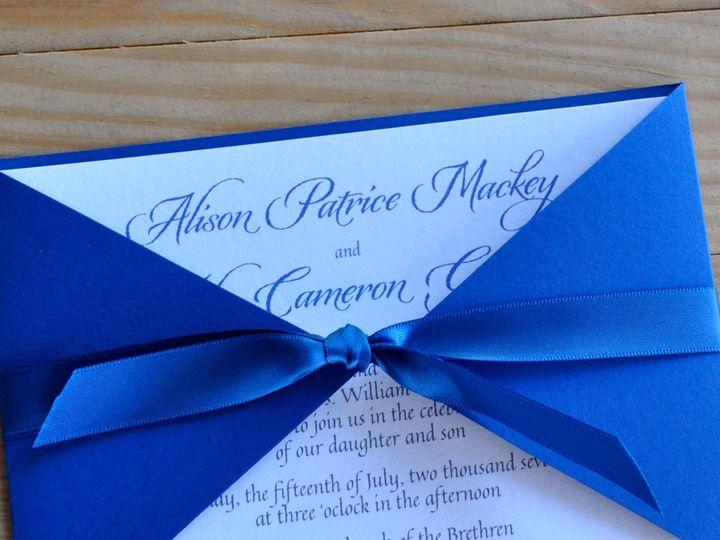 Tmx 1508381506200 Alison Leesburg, VA wedding invitation