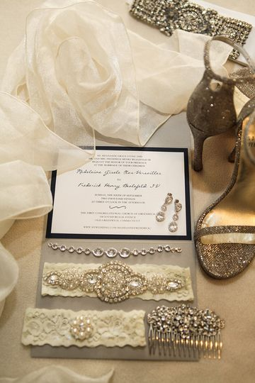 Bridal accessories and her vows | Photo courtesy of Michael Benson Photography