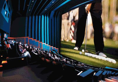 The World Golf Hall of Fame 3-D IMAX Movie Theater