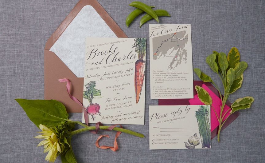 Farm invitation cards