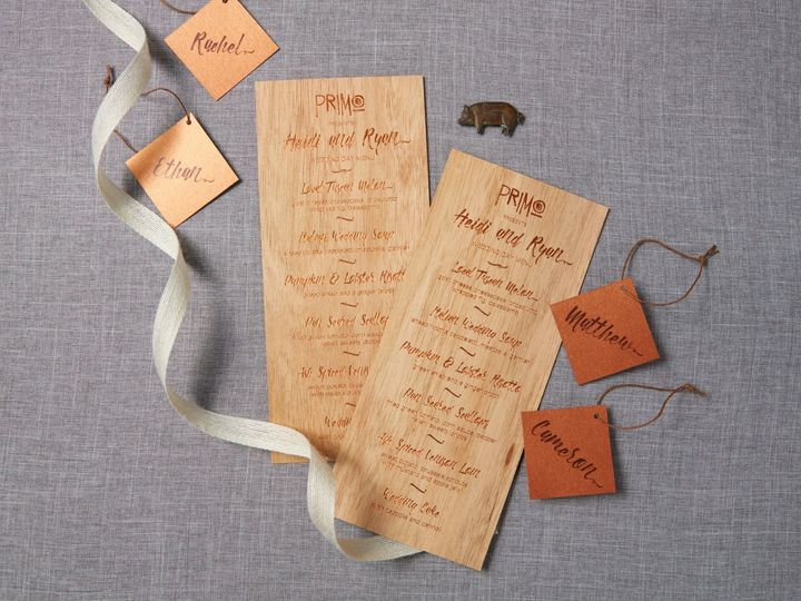 Tmx 1471630450215 Heidi Ryanfarmtotable Wedding Primo Menu Portland, Maine wedding invitation