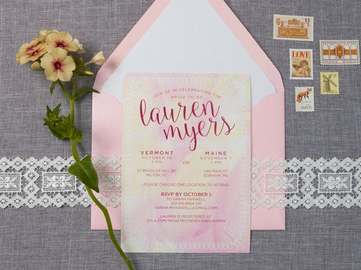 Tmx 1471630680361 Lauren Wedding Shower Invitation Portland, Maine wedding invitation