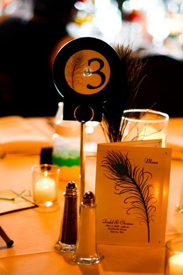 Christine & Dan   Edgewater Hotel  Theme: A Regal Love that is Timeless  Table decor - CD table...