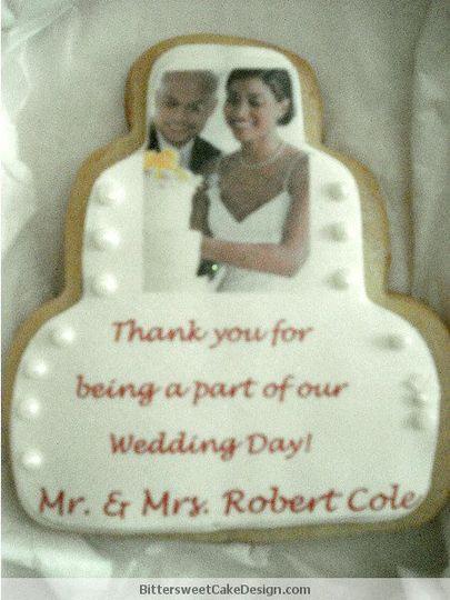 Wedding Announcement Cookies