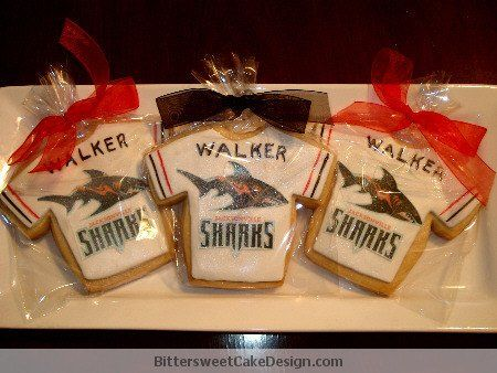 Tmx 1313957531667 Sharkscookies South Orange wedding cake