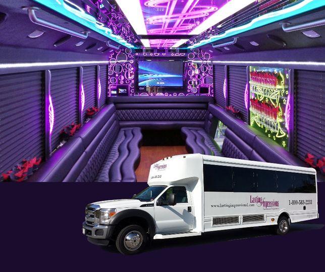 26-29 Passenger Party Bus