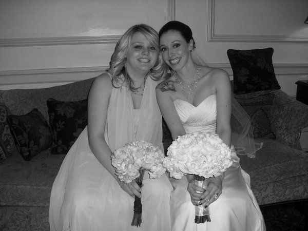 Bride and her sister, Murray Wedding March 2011