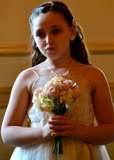 Flower girl, Murray Wedding March 2011