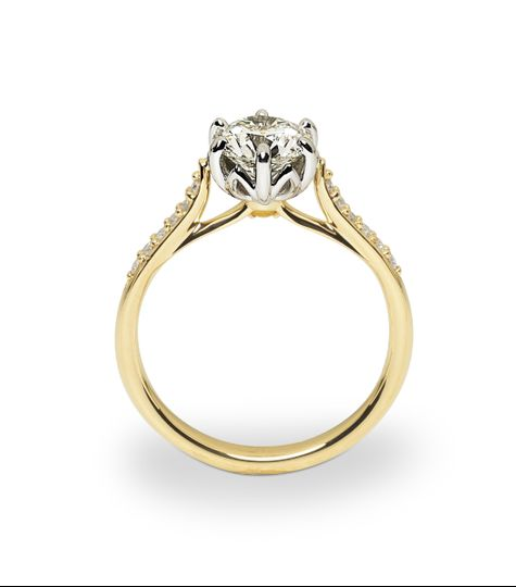 Our 50th Anniversary is truly a Jublilee, and we designed a diamond ring to capture the excitement....