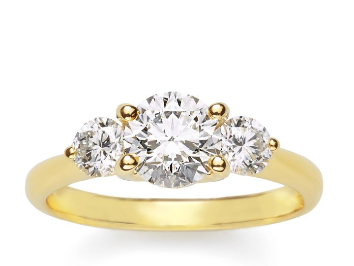 Tmx 1506781871232 Ring3round Diamondsgoldfs Freeport wedding jewelry