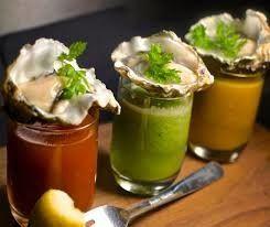 Oysters & Gazpacho