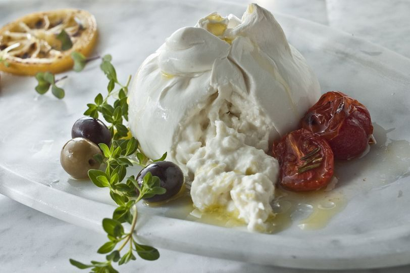 Table Side Burrata & Olive