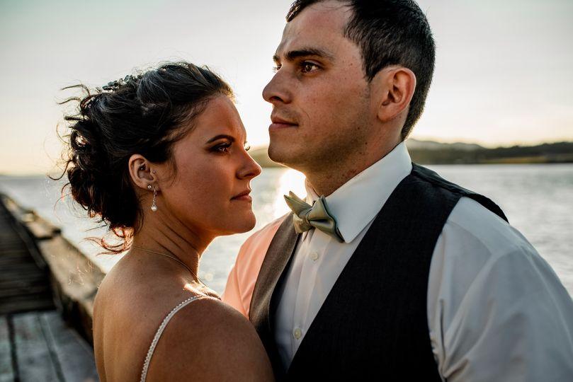 Bold and intimate wedding