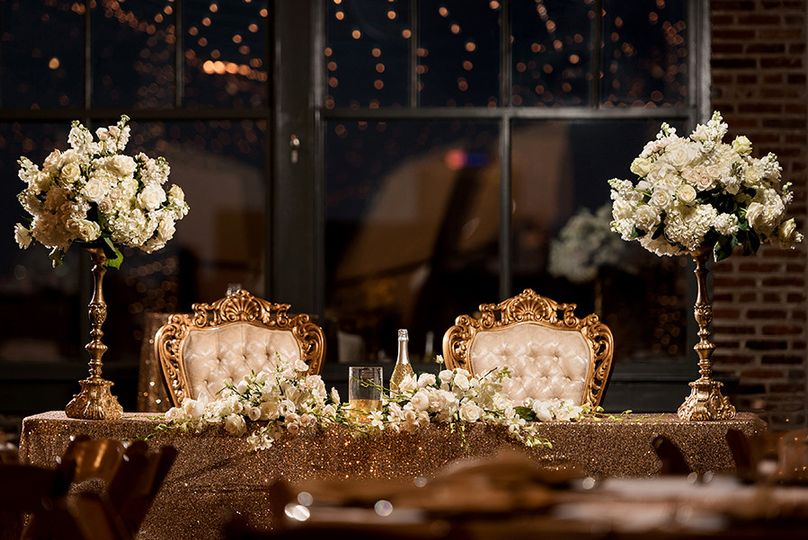 The sweetheart table to end all!