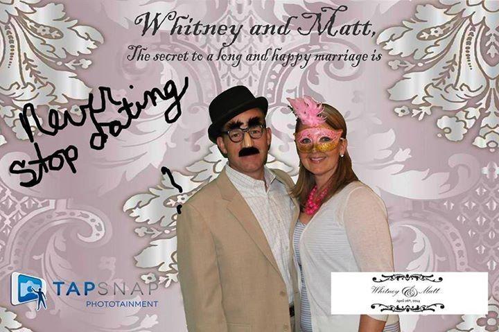 tapsnap wedding messag