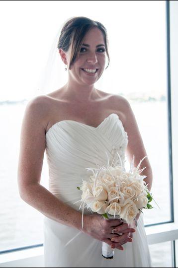 Bride jessica, Makeup by Pamela