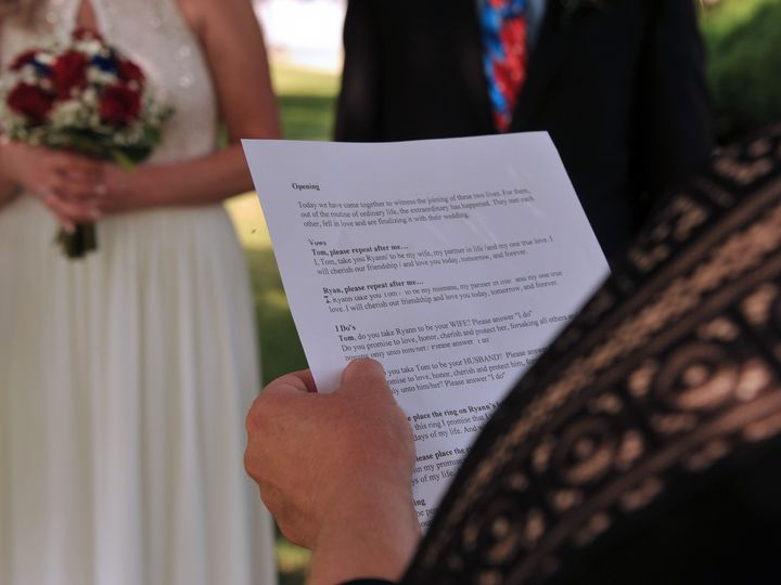 Tmx Ryann Tom Wedding 007 51 940412 1560811283 Kingston, PA wedding officiant