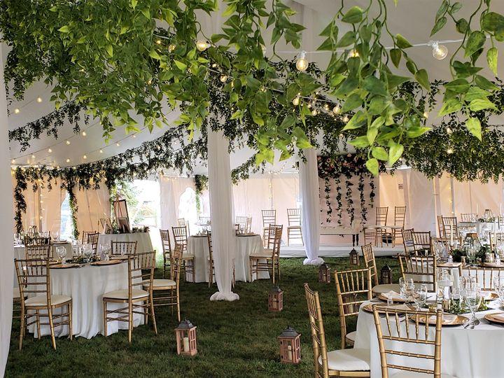 Tmx Asya 30x60 Tent With Hanging Greenery 51 621412 160650878423755 Webster, New York wedding rental