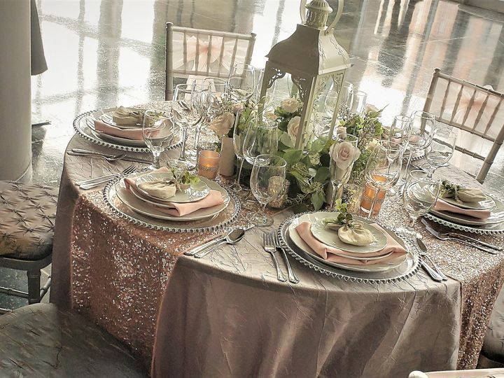 Tmx Blush And Silver Tablescape 2019 2 51 621412 Webster, New York wedding rental