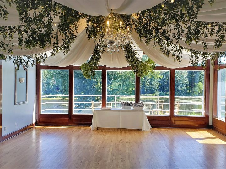 Tmx Ceiling Draping At Blue Heron Hill 51 621412 159654902917856 Webster, New York wedding rental