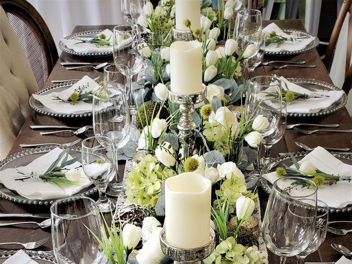 Tmx Spring Crocus Tablescape20 51 621412 158213185188246 Webster, New York wedding rental