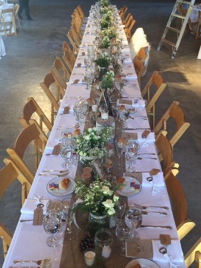 long pretty table