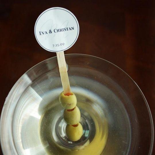 Printable Stir Stick Tag