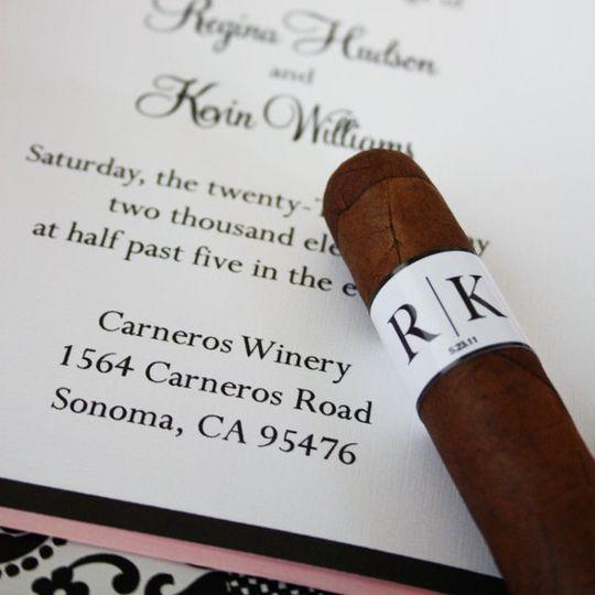 Printable Cigar Label