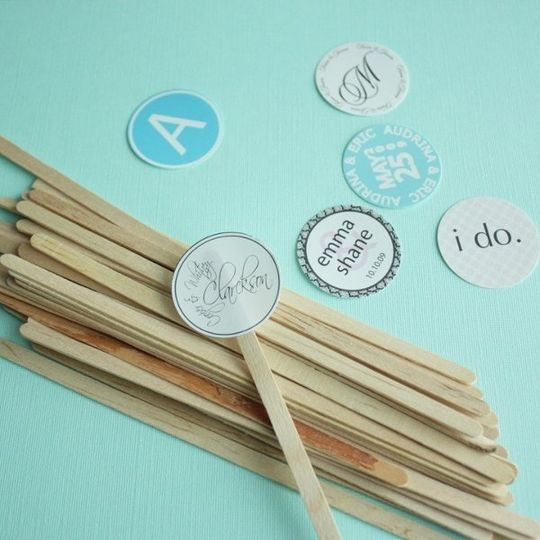 Printable Stir Sticks
