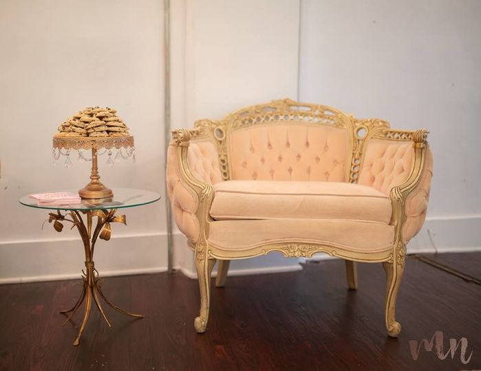 Great vintage furniture for your perfect event
