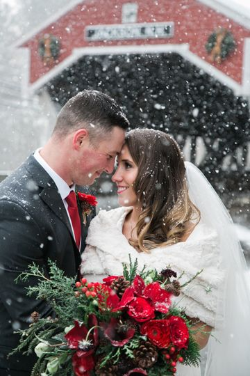 NH Winter Wedding