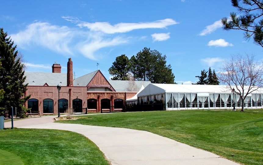 cambridge and mountain view pavilion from golf course