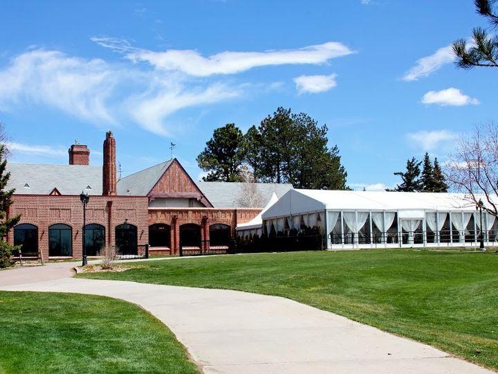 Tmx 1375909869861 Cambridge And Mountain View Pavilion From Golf Course Denver, Colorado wedding venue
