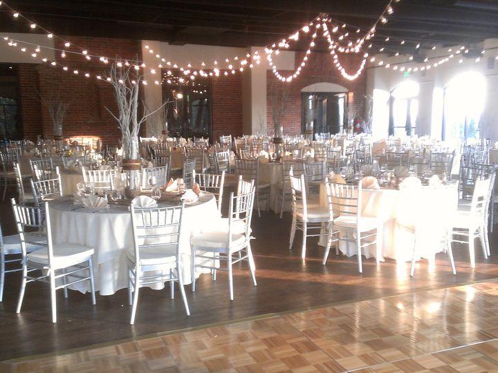 Tmx 1375909898133 Cambridge Room Dance Floor With Bistro Lighting Denver, Colorado wedding venue