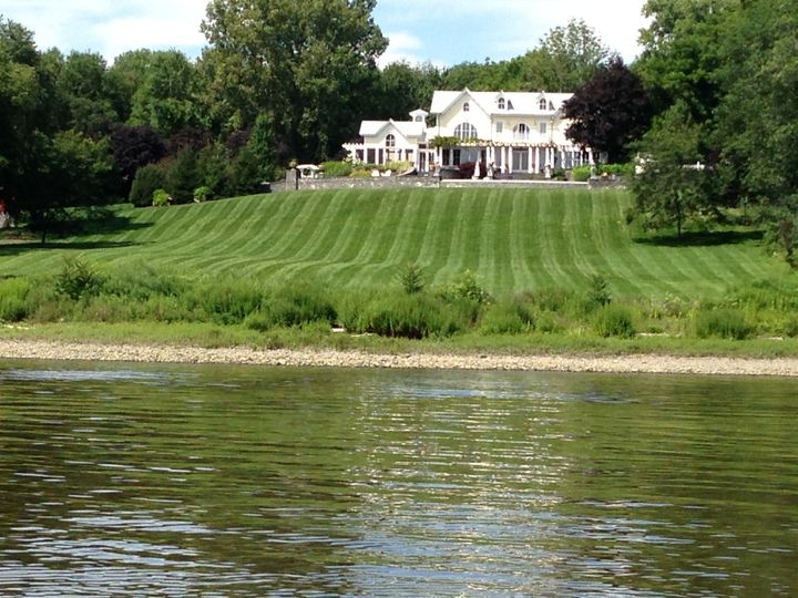 house from river