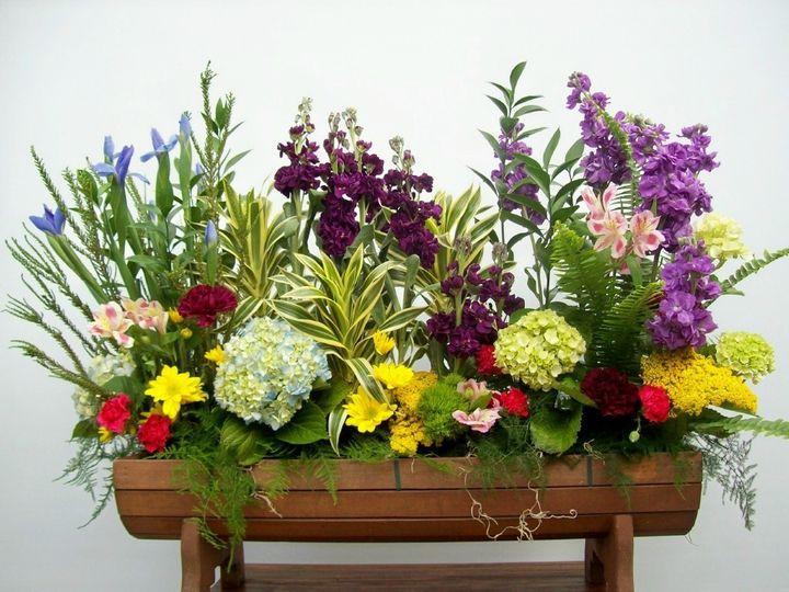 Tmx 1502160300720 Arr Floor Pc Wood Window Box Binghamton, New York wedding florist