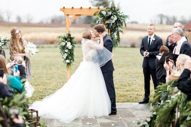 Tmx 1519140142 9658337f1e37f922 1519140141 F6ad457bc2ba9227 1519140141041 4 Altar Kiss Binghamton, New York wedding florist