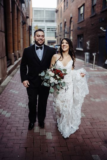 Cincinnati Downtown wedding