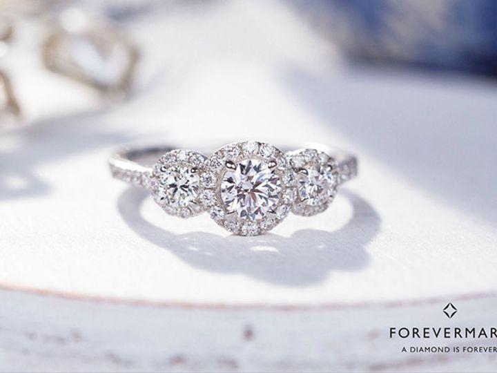 Tmx 1506527935982 Fmbrandcomusocialmediafacebookcomu3stoneringenviro Northfield wedding jewelry