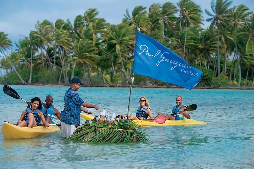 Paul Gauguin All-Inclusive Cruises to Tahiti, French Polynesia and the South Seas take you to...