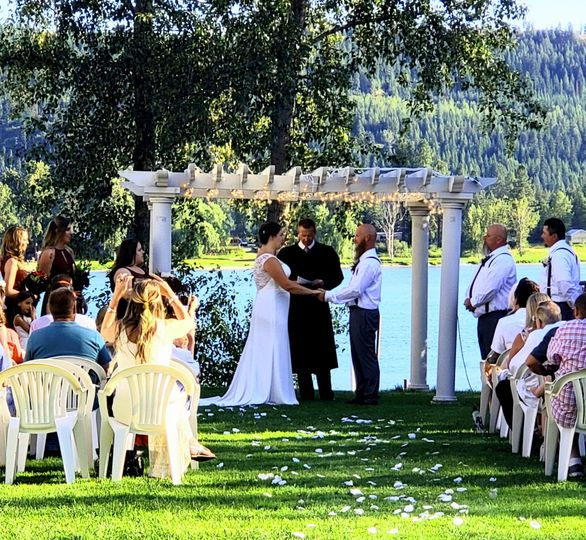 Beautiful Ceremony setting